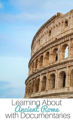 Looking to learn more about Ancient Rome? Take a look at using CuriosityStream documentaries to learn more about Ancient Roman history. Informations About Learning About Ancient Rome with Documentarie History Activities, Teaching History, Ancient World History, Roman History, Women's History, British History, History For Kids, History Classroom, Story Of The World