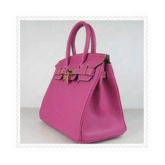 Hermes Birkin Bag Hot Pink via Polyvore