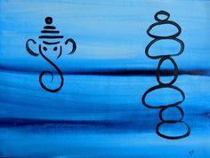 "For Sale: Balance by Kruti   $100   14""w 11""h   Original Art   https://www.vangoart.co/kruti-shah/balance-43660204-78bd-4e3d-8c52-3d8621bcc15e @VangoArt"