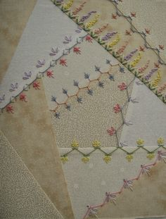 Patchwork Allsorts: Basic Crazy Quilt Course: Progress Update
