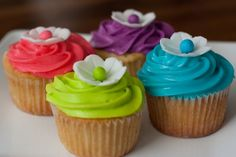 Hawaiian Cupcakes Photo: This Photo was uploaded by hstanfi. Find other Hawaiian Cupcakes pictures and photos or upload your own with Photobucket free i. Hawaiian Cupcakes, Neon Cupcakes, Tropical Cupcakes, Flower Cupcakes, Cupcake Cakes, Decorated Cupcakes, Hawaiian Theme, Coconut Cupcakes, Cupcake Ideas