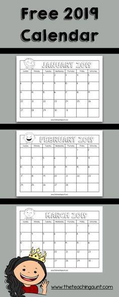 Good Photo preschool calendar printables Popular The revolutionary season is actually coming though it is the perfect season setting completely new solutions a. Kindergarten Calendar, Preschool Calendar, Teaching Calendar, Calendar Activities, Classroom Calendar, Kids Calendar, Calander Printable, Calendar 2019 Printable, Free Preschool