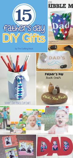 Looking for ideas to make awesome Father's Day DIY Gifts? I'm sure these 15 ideas will give you enough inspiration!!!