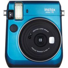 Fujifilm 16496081 Instax(R) Mini 70 Instant Camera (Blue)