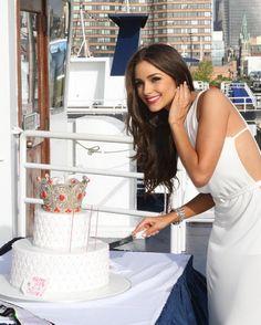 Olivia Culpo, Miss Universo 2012, cumplió 21 años en Nueva York