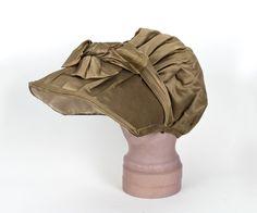 Regency bonnet 1805-15. Vintage textiles.