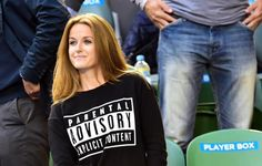 Kim Sears actually wore this to the Australian Open final