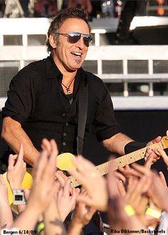 Bruce Springsteen, born in Long Branch, NJ