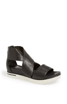 Black top/White sole shoes/sandals are a thing. These happen to be one of many that I like. Not sure if they would go very well with my sweat pants though. _ Eileen Fisher 'Sport' Platform Sandal via nordstrom.com