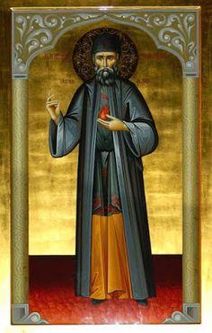 Paraklesis to Saint Ephraim of Nea Makri Divine Grace, Churches Of Christ, Orthodox Icons, Holy Spirit, Christianity, Saints, Painting, God, Dios