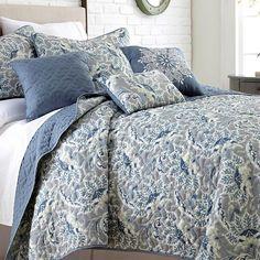 Bue bedding//