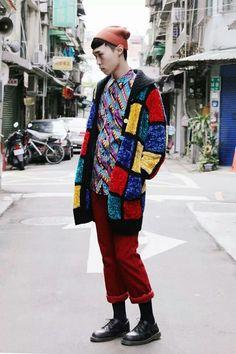 That jacket.  Mondrian Bohemian.