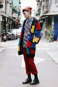 That jacket.  Mondrian Bohemian.