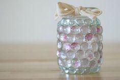 Mason Jar Prism Candle Light | Cool Mason Jar Crafts You Can Do At Home