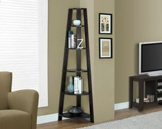 Shop Staples® for Monarch Corner Accent Etagere, 72''H, Cappuccino and enjoy everyday low prices, and get everything you need for a home office or business. Get free shipping on orders of $45 or more and earn Air Miles® REWARD MILES®.