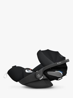 Buy Cybex Cloud Z i-Size Group Baby Car Seat, Deep Black from our Car Seats range at John Lewis & Partners. Cybex Priam, Materials And Structures, My Size, Golf Bags, 6 Years, Baby Car Seats, Infant, Clouds, Black