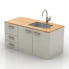 3D Model Wash-basin | Category: Sanitary Ware
