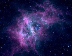 Nebula RCW49 - pretty purple & blue.... billions of stars!