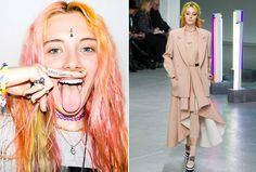 Chloe Nørgaard: conheça a modelo foi destaque na Semana de Moda de NY