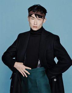 Sang Woo Kim by Hyungsik Kim - GQ Korea, Dec 2015