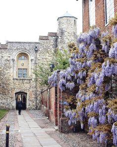 Canterbury, Kent. England, Uk.-