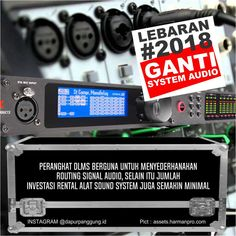 lebaran 2018 ganti system audio