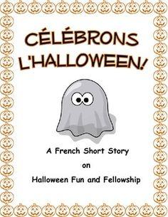 CÉLÉBRONS L'HALLOWEEN - A French Halloween Short Story + Q