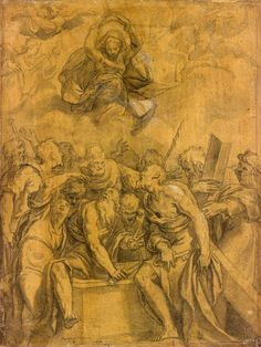 Paolo Farinati | 1524-1606 | Assumption of the Virgin | ca. 1565 | The Morgan Library & Museum