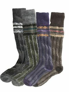 Women's SmartWool Splendor Knee High Socks, USA | Sahalie. These look comfy and warm.