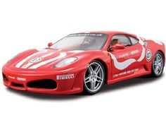 The Maisto Ferrari F430, is a diecast model kit car from this fantastic manufacturer in 1/24th scale. 1:24th scale Assembly Line model kit. Easy assembly, no paint or glue involved here as everything is included in the box - including the screwdriver! Highly detailed die-cast metal body with plastic parts. Opening parts and rolling wheels on completed kit.