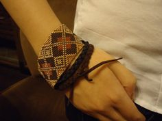 Bohemian Boho Loomed bead bracelet hand Beadwoven by CiCiBeads