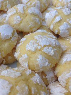 """Biscotti """"crepati"""" al limone"""