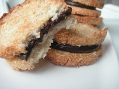 Mousse, Biscuits, Sandwiches, Gluten, Cookies, Origami, Centre, Food, Pastry Recipe