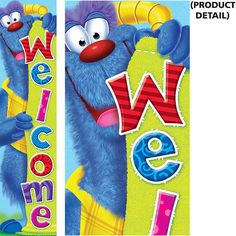 Furry Friends Welcome Quotable Expressions Banner – 5 Feet (T-25060) #classroom #decor #AILtyler