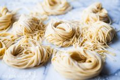 I have the Kitchenaid pasta attachment and have never used it.  Might be time to break it out!  Homemade Pasta - This one works great for the kitchenaid mixer