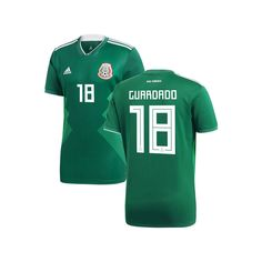 98a97f48c Andres Guardado Mexico National Team adidas Youth 2018 Home Replica Jersey  - Green