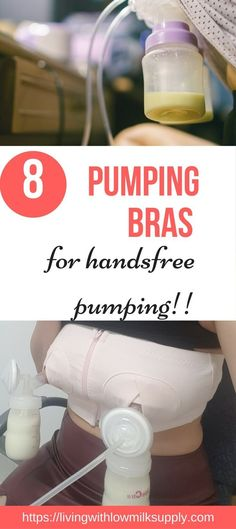 Looking for handsfree pumping bra for moms? This article shows the pros and cons of the top 8 of popular handsfree pumping bra and how to use them to do hands-on pumping. Also great for pumping for working moms. #pumpingtipsforbeginners #handsfreepumpingbra via @fiftarina