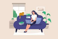 What Your Best Morning WFH Routine is According to Your Zodiac Sign Home Office, Software, Her Campus, And Just Like That, Free Vector Art, Interview Process, Cladding, Workplace, Remote