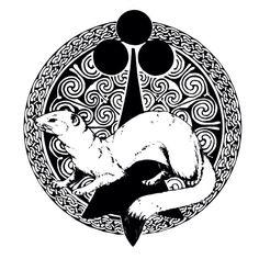 L'hermine , symbole breton