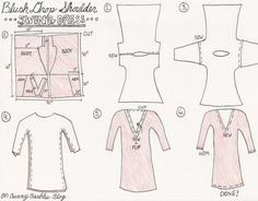 The perfect Valentine's dress! Super simple sewing project