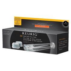 Keurig Water Filter Starter Kit, Clear