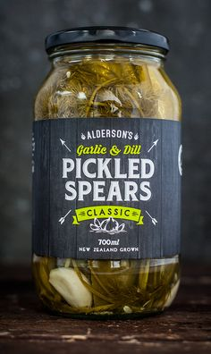 Alderson's Classic Pickled Spears