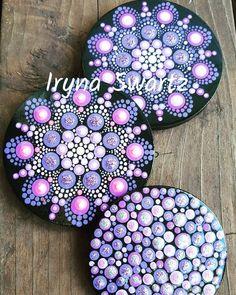 Rock Painting Patterns, Dot Art Painting, Rock Painting Designs, Mandala Painting, Pebble Painting, Pebble Art, Stone Painting, Mandala Painted Rocks, Mandala Rocks