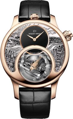 雅盖德罗 (Jaquet-Droz) [NEW][LIMITED EDITION 8 PIECE][全新限量8支] Rose Gold 2017 Charming Bird J031533200 (Retail:CHF 410000) ~ EXCLUSIVE OFFER: HK$2,280,000.