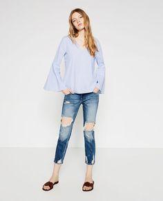 Zara online shop jeans damen