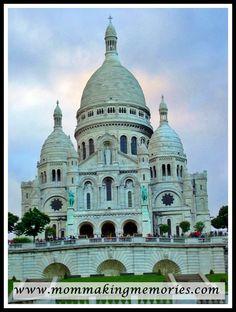 Sacre Couer. Montmarte. Paris