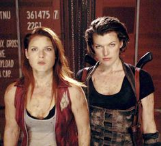 resident evil claire and alice - Google Search