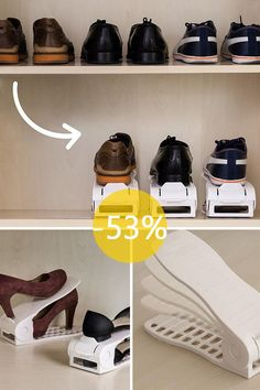 65dbb968ad Számtalan megoldás létezik a cipők helytakarékos tárolására, azonban már  valamikor a tároló megfelelő elhelyezése is