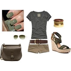 summer, created by crystal-brito.polyvore.com