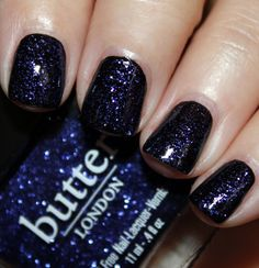 butter LONDON Indigo Punk butter LONDON Bespoke Colour Cosmetics Swatches and Review